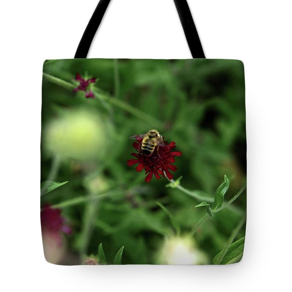 Tote Bag featuring the photograph To Bee by Lorraine Devon Wilke
