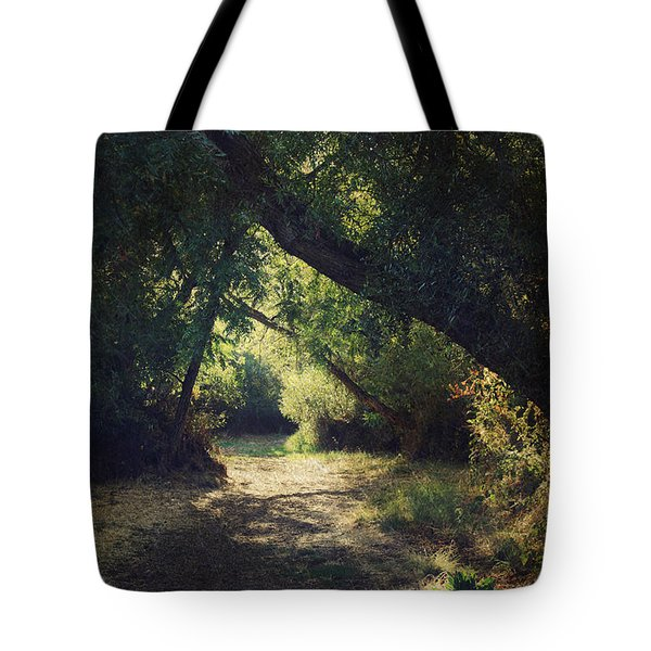To My Happy Place Tote Bag by Laurie Search
