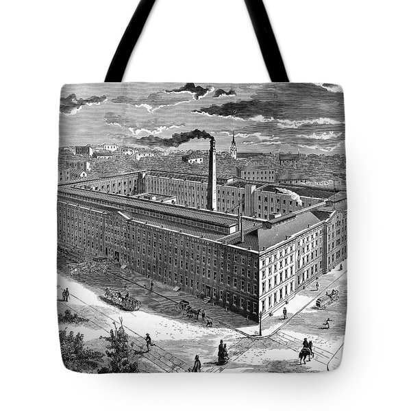 Tobacco Factory, 1876 Tote Bag by Granger