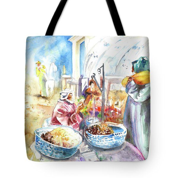 Together Old In Morocco 01 Tote Bag by Miki De Goodaboom