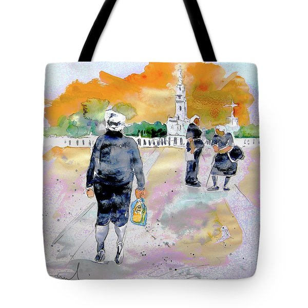 Together Old In Portugal 03 Tote Bag by Miki De Goodaboom