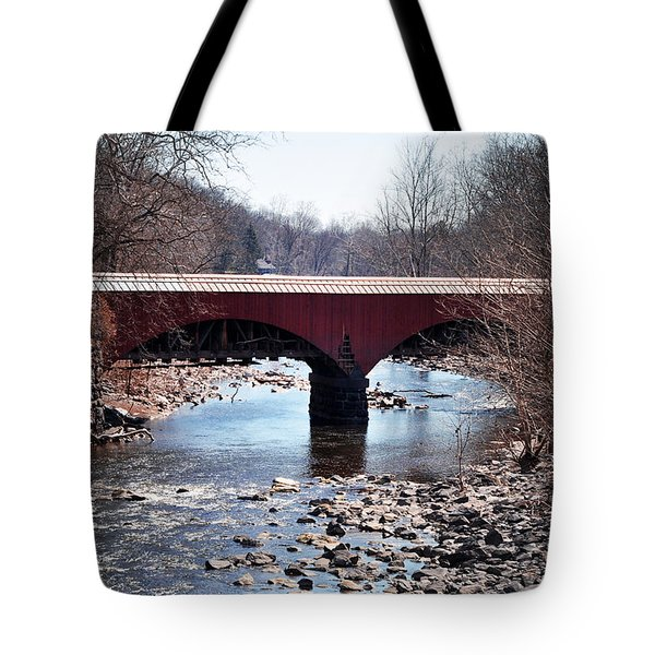 Tohickon Creek Aqueduct Point Pleasant Pa Tote Bag