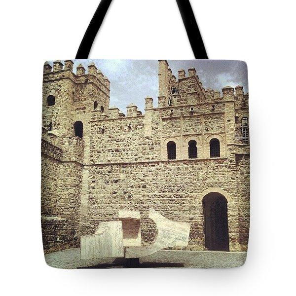 #toledo #castle #castello #castillo Tote Bag