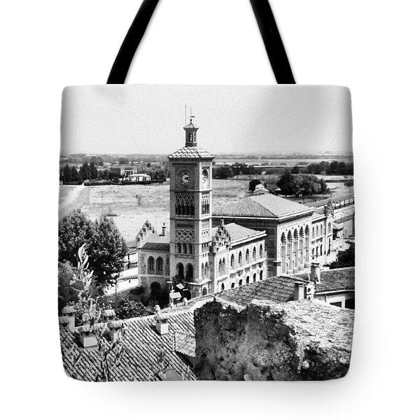 Toledo. Estación De Tren Tote Bag