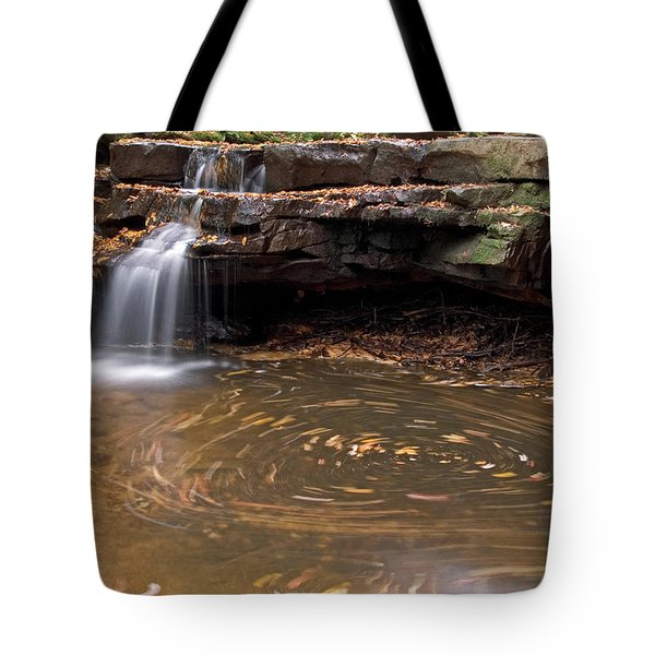 Tolliver Falls Tote Bag by Jeannette Hunt