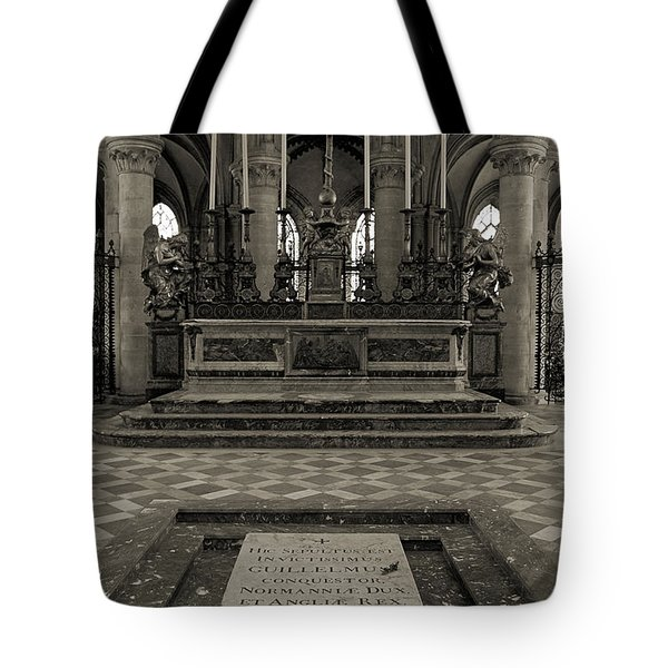 Tomb Of William The Conqueror Tote Bag by RicardMN Photography