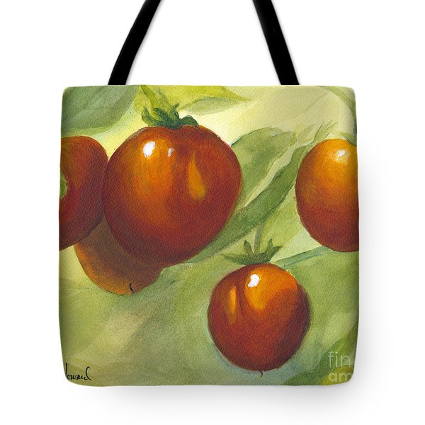 Tote Bag featuring the painting Tommy Toes by Phyllis Howard