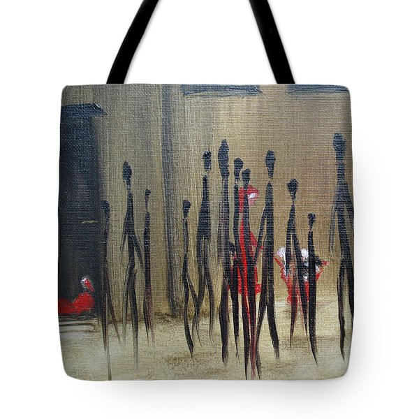 Too Busy To Notice Tote Bag by Judith Rhue