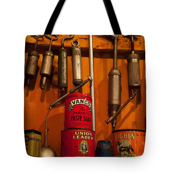Tool Shop Tote Bag by Karol Livote