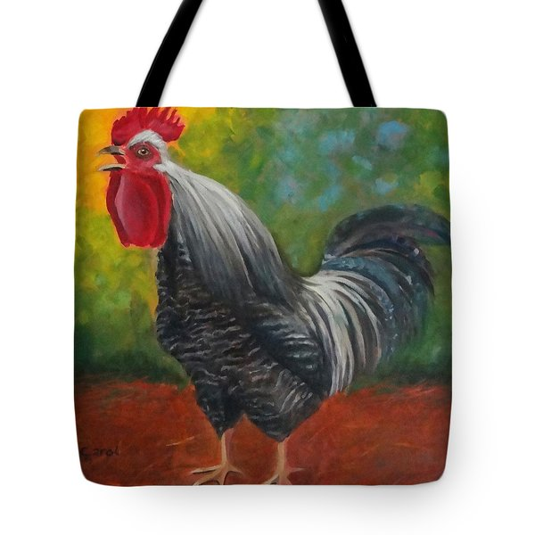 Top Of The Morning To You Tote Bag