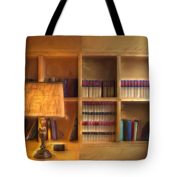 Top Pot's Library Tote Bag by Heidi Smith