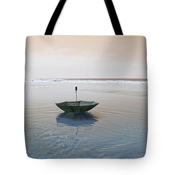Topsail Floating Umbrella Tote Bag by Betsy Knapp