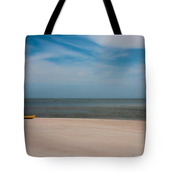 Topsail Kayak Tote Bag by Betsy Knapp