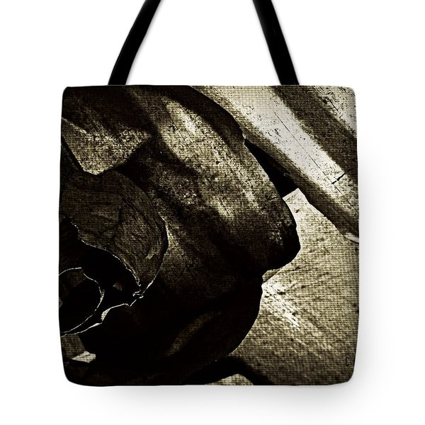Torn  Tote Bag by Chris Berry