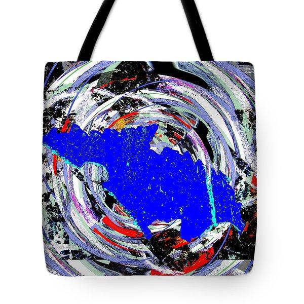 Torn Tote Bag by Tim Allen