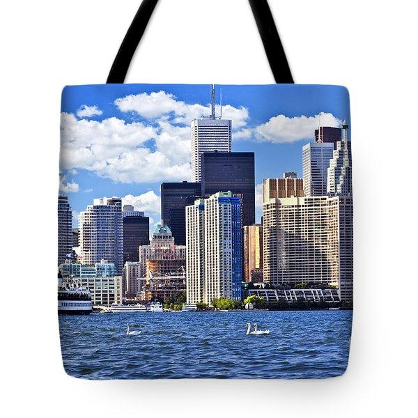 Toronto Waterfront Tote Bag