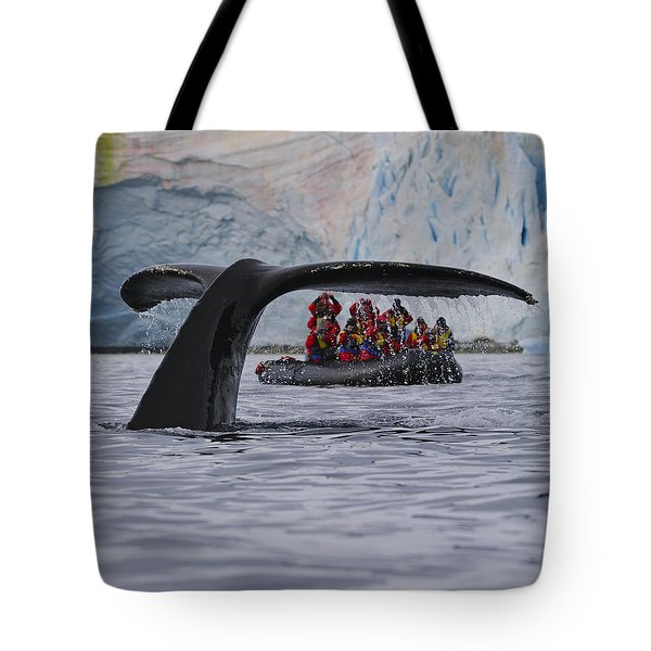 Total Fluke Tote Bag by Tony Beck