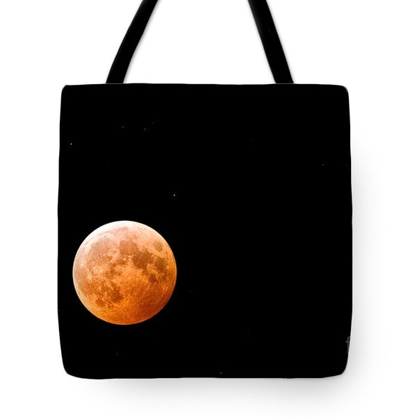 Total Lunar Eclipse Tote Bag by Matt Suess