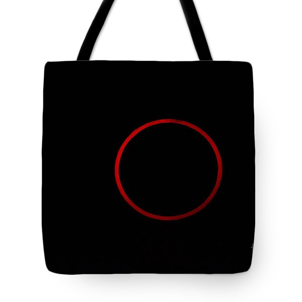 Totality During Annular Solar Eclipse Tote Bag by Phillip Jones