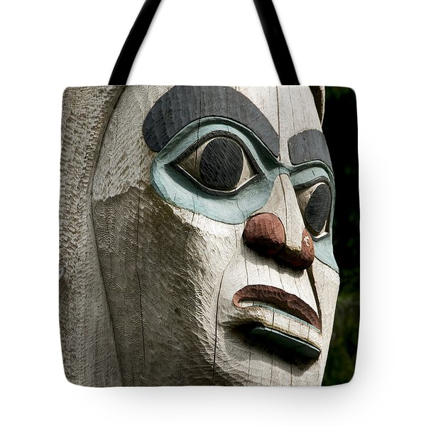 Totem Close Up Tote Bag