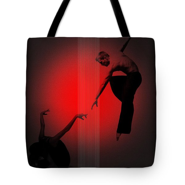 Touch Tote Bag by Naxart Studio