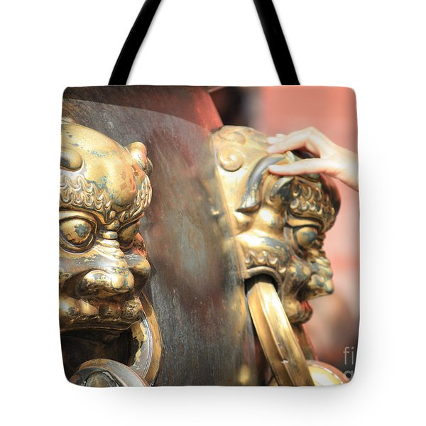 Touch Of Good Fortune Tote Bag by Carol Groenen