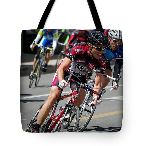 Tote Bag featuring the photograph Tour Of The Gila - Criterium  by Vicki Pelham