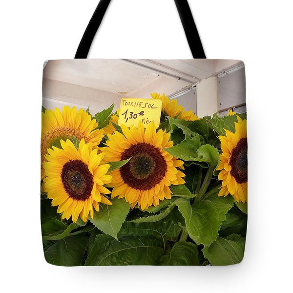 Tournesol Tote Bag by Carla Parris