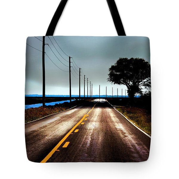 Towards The Coast Tote Bag
