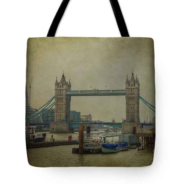 Tower Bridge. Tote Bag by Clare Bambers