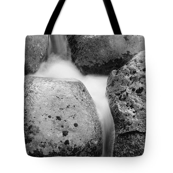 Tote Bag featuring the photograph Tower Creek Detail by Doug Herr