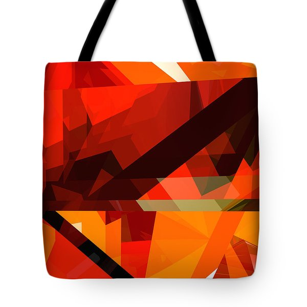 Tower Series 14p Tote Bag by Russell Kightley