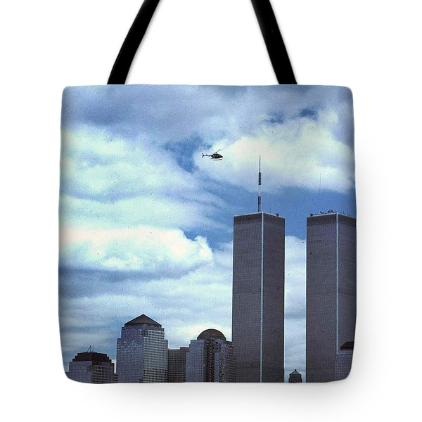 Towers Tote Bag by Skip Willits