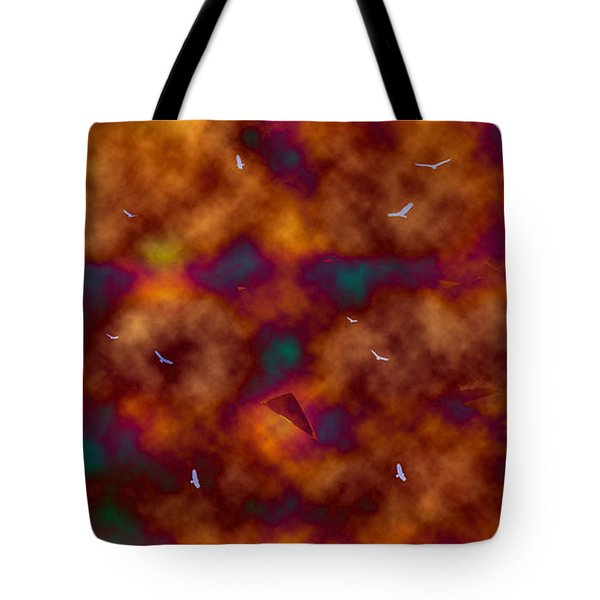 Toxic Sky Tote Bag