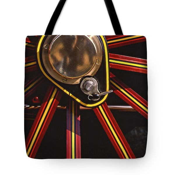 Traction Tote Bag by Meirion Matthias