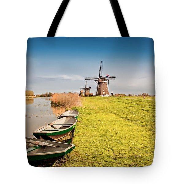 Traditional  Dutch Landscape Tote Bag