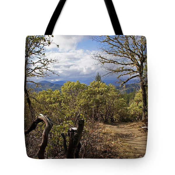 Trail At Cathedral Hills Tote Bag