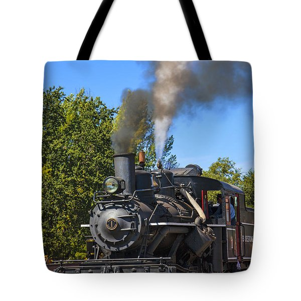 Train Number One Tote Bag by Garry Gay
