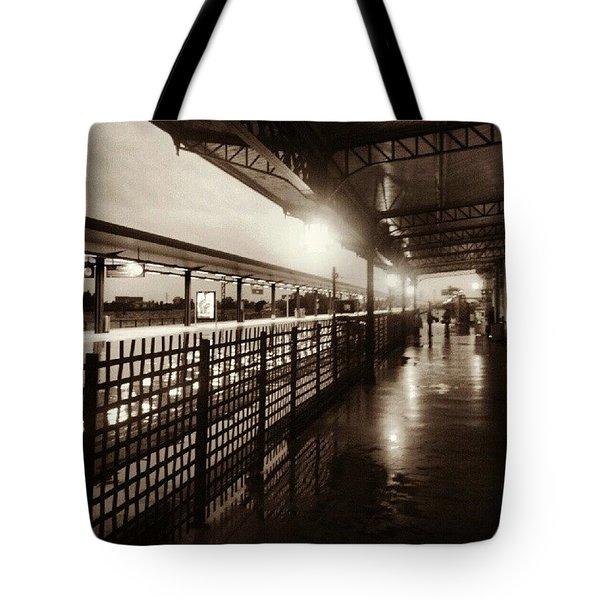 Train Station. Toledo Tote Bag