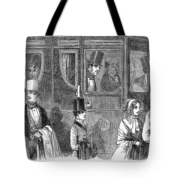 Train Travel: First Class Tote Bag by Granger