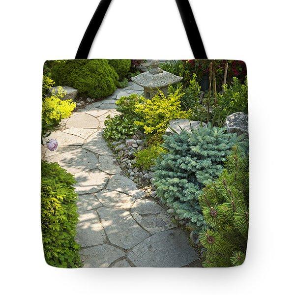 Tranquil Garden  Tote Bag by Elena Elisseeva