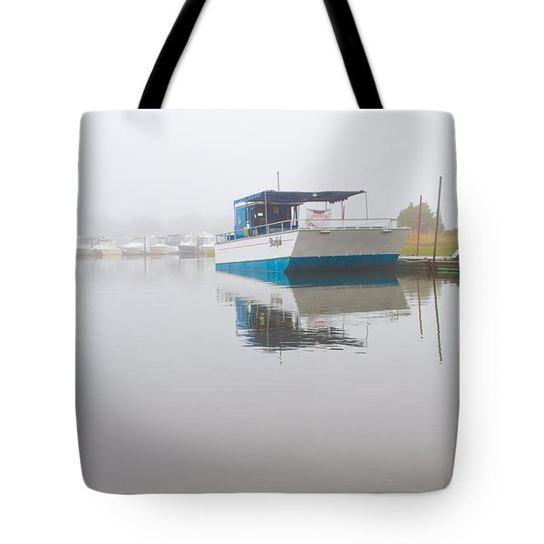 Tranquil Harbor Tote Bag by Karol Livote