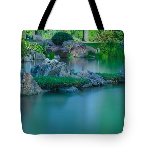 Tranquil Island Tote Bag by Jonah  Anderson