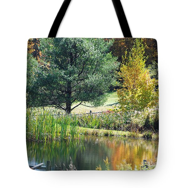 Tote Bag featuring the photograph Tranquil by John Schneider