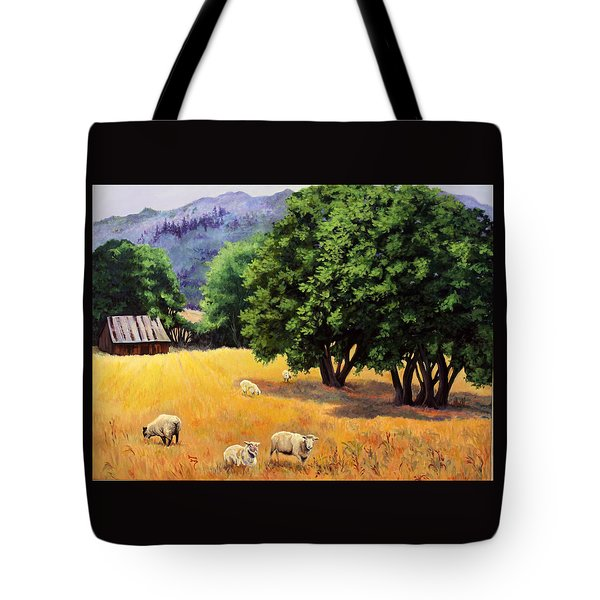 Tranquil Pastures Tote Bag