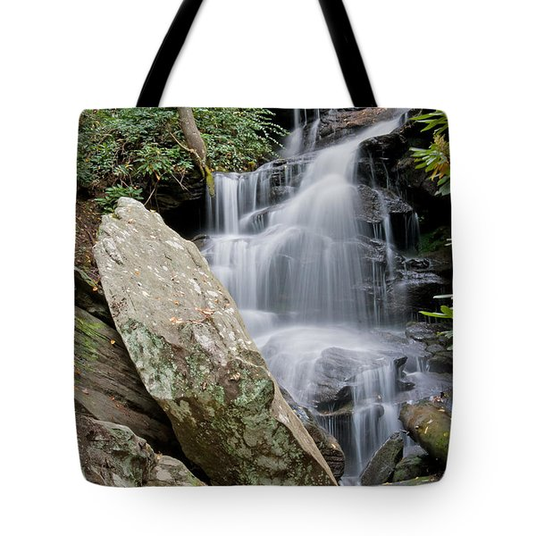 Tranquil Waterfall Tote Bag