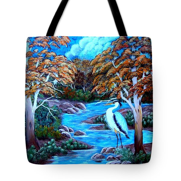 Tranquility Tote Bag by Fram Cama