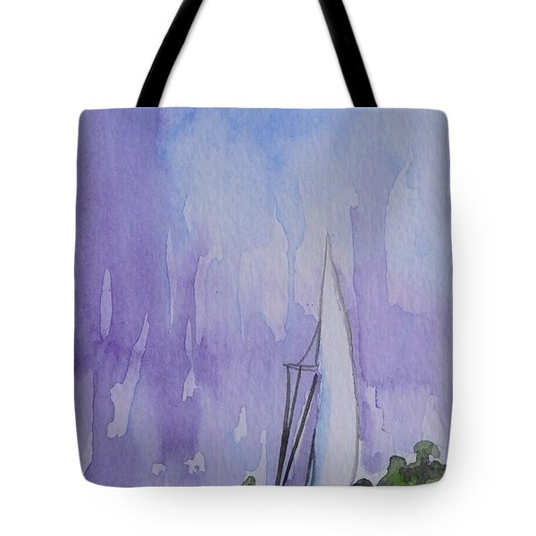 Tranquility Tote Bag by Gretchen Bjornson