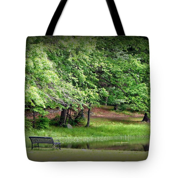 Tranquility Tote Bag by Priscilla Richardson