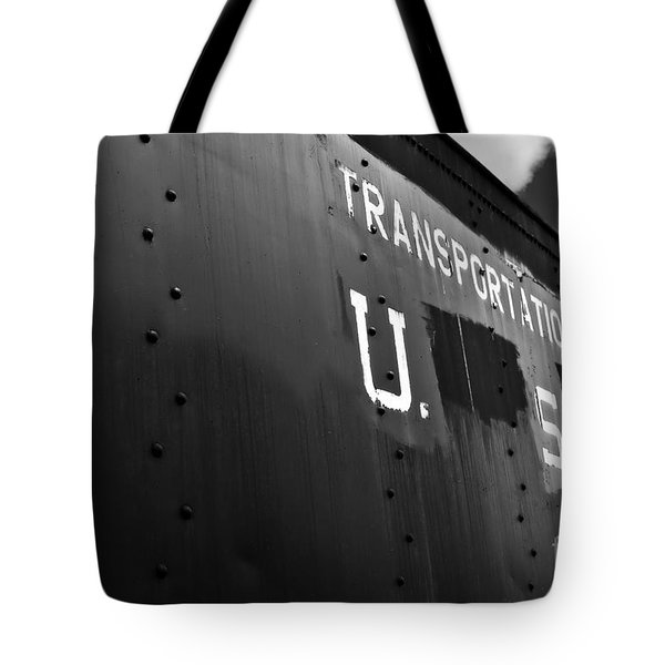 Transportation Corps Car Tote Bag